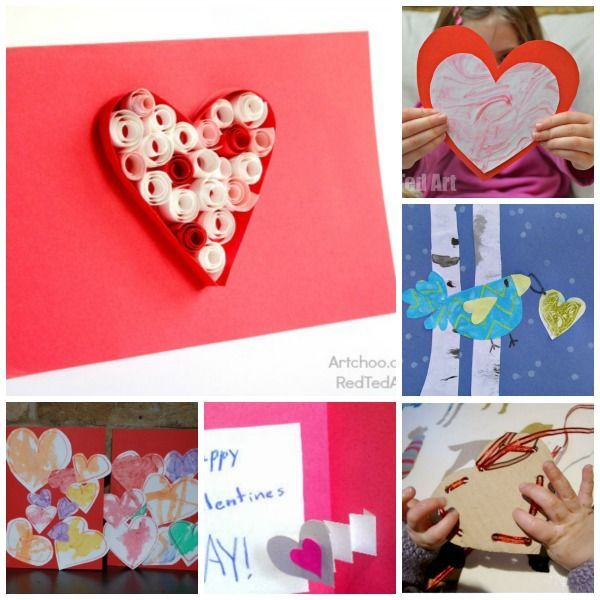 14 Valentineu0027s Day Cards For Kids To Make. Lots Of Super Cute Ideas Here!