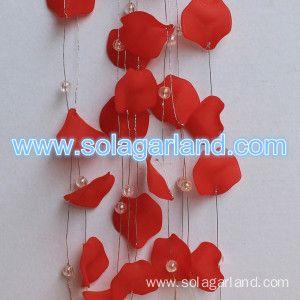 Acrylic Flower Beaded Garland For Wedding Decor