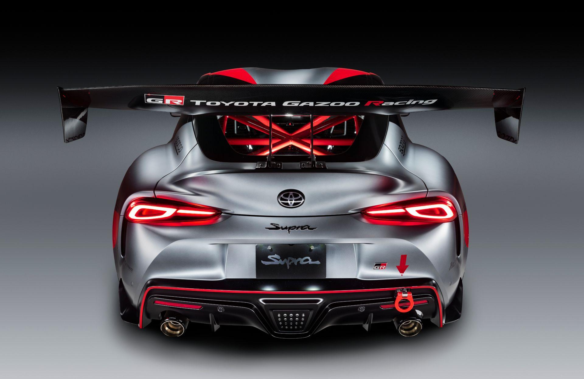 Gr Supra Track Concept In 2020 Toyota Supra Supra Toyota
