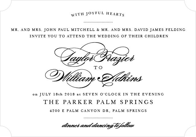 elegant vintage foil landscape wedding invitation invitations