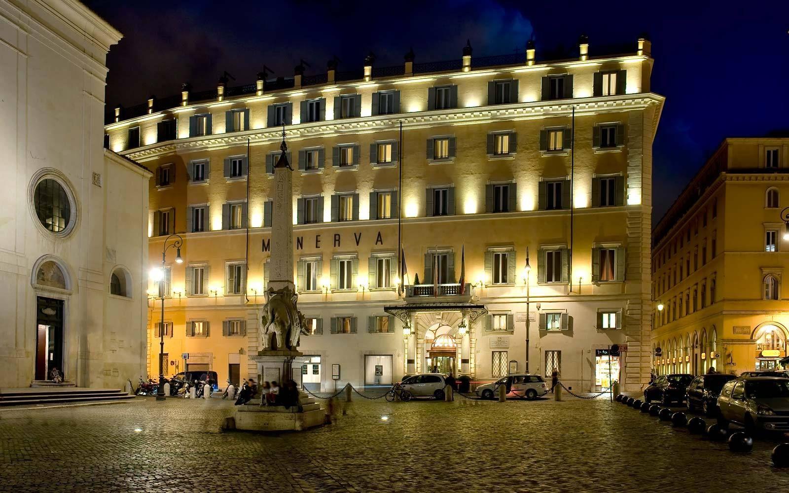 5 Star Hotel In Rome Grand Hotel De La Minerve Official Website
