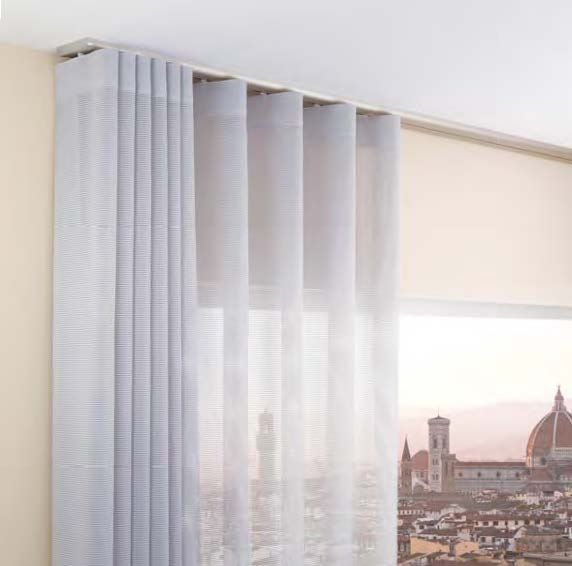 Tenda a soffitto scorrevole a binario Lirico  Portfolio tende privati  Pinterest  Window