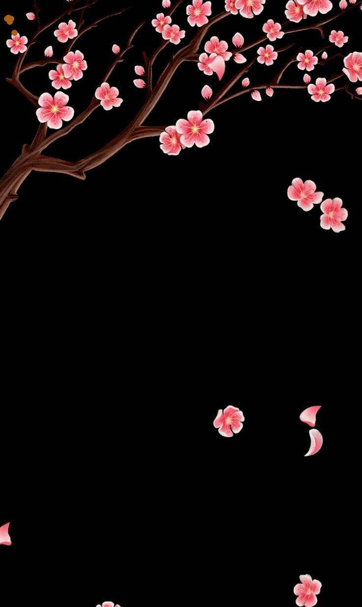 Oboi Derevo Black Wallpaper Iphone Black Wallpaper Pretty Wallpapers