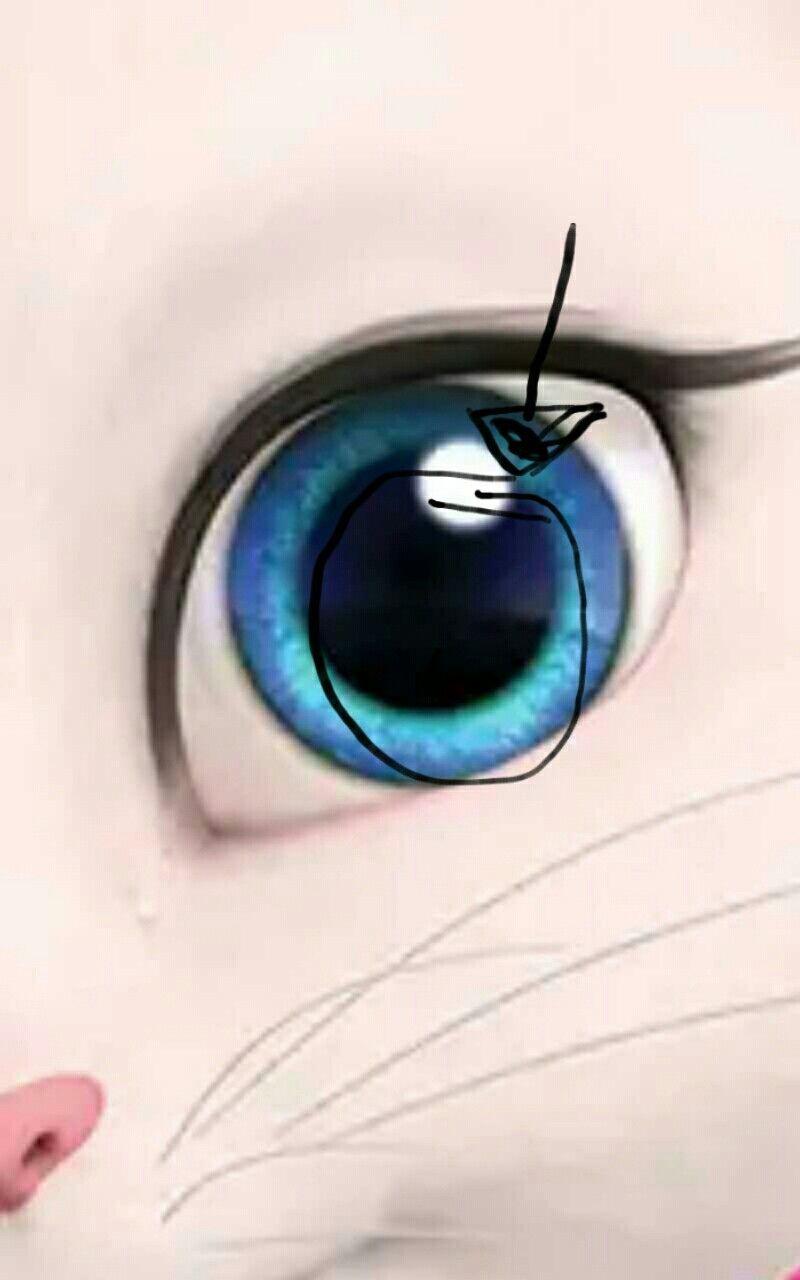 Картинка из глаз анжелы