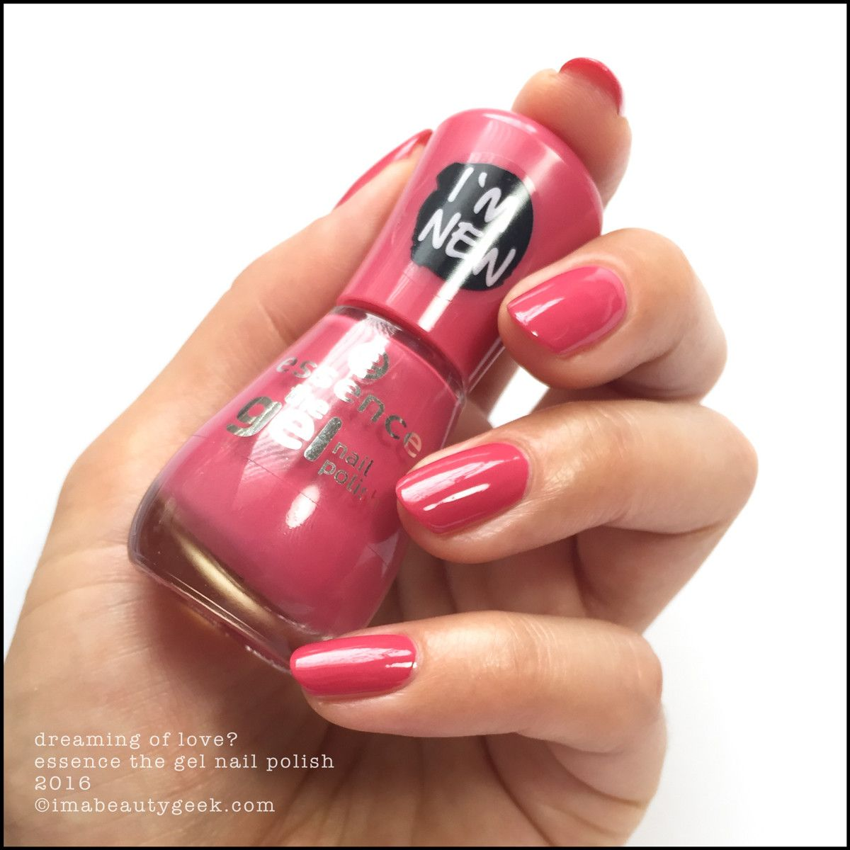 Essence The Gel Nail Polish 87 Gossip Girl - To Bend Light