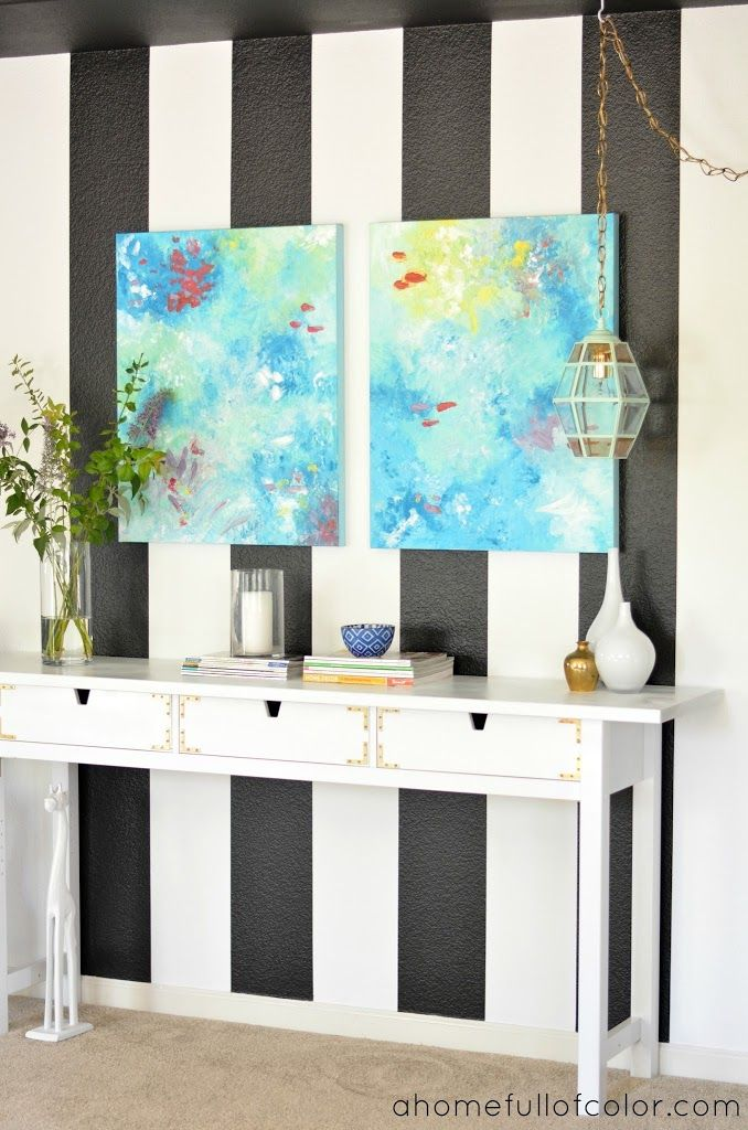 Entryway Revamp: Styled Two Ways