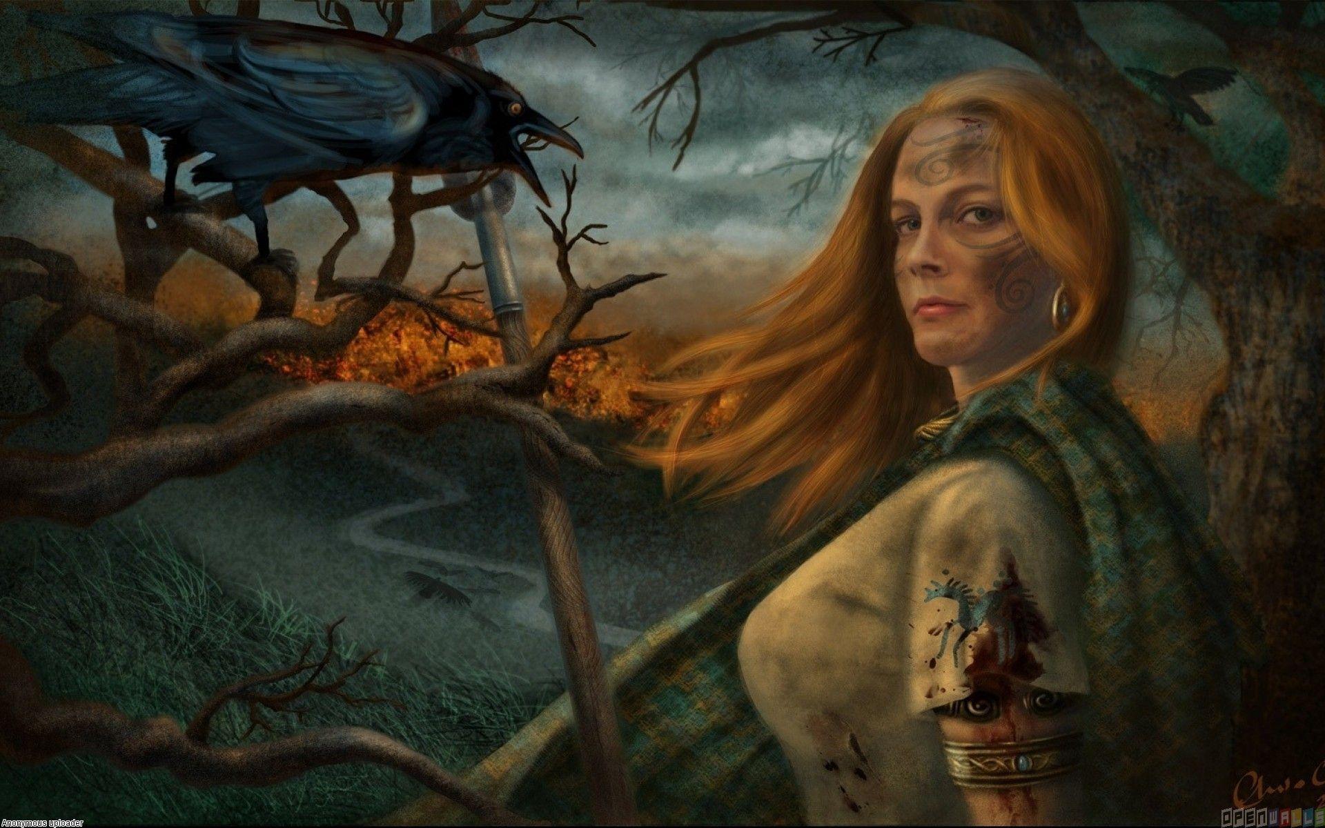 Boudicca Srikandi Perang Melawan Empayar Rom Warrior Queen Celtic Warriors Queen Boudica