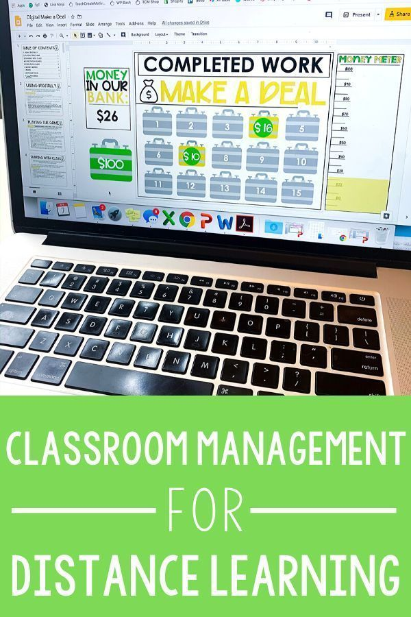 Redefining Classroom Management for Distance Learning - Teach Create Motivate
