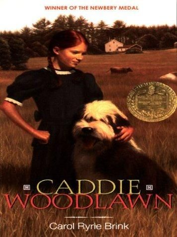 Caddie Woodlawn, carol Ryrie brink. One of my favorite books forever.