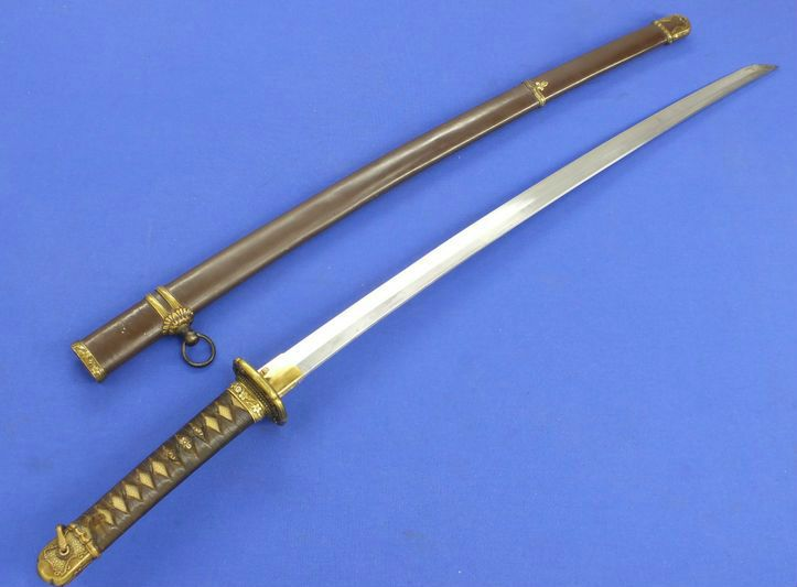 Japanese Officer S Sword Dated World War Ii Measurements