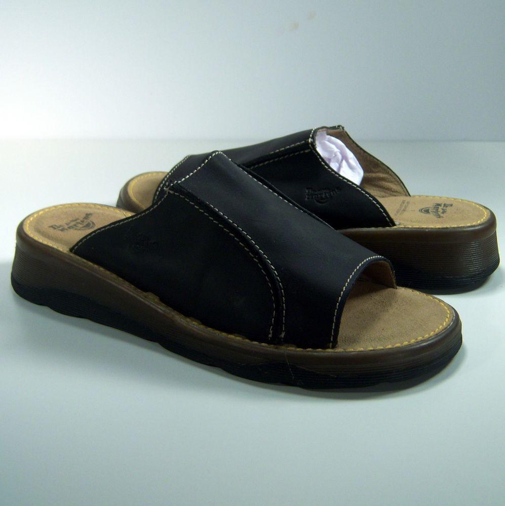 Dr Martens Womens Sandals Size 7 UK 9 US Black Leather