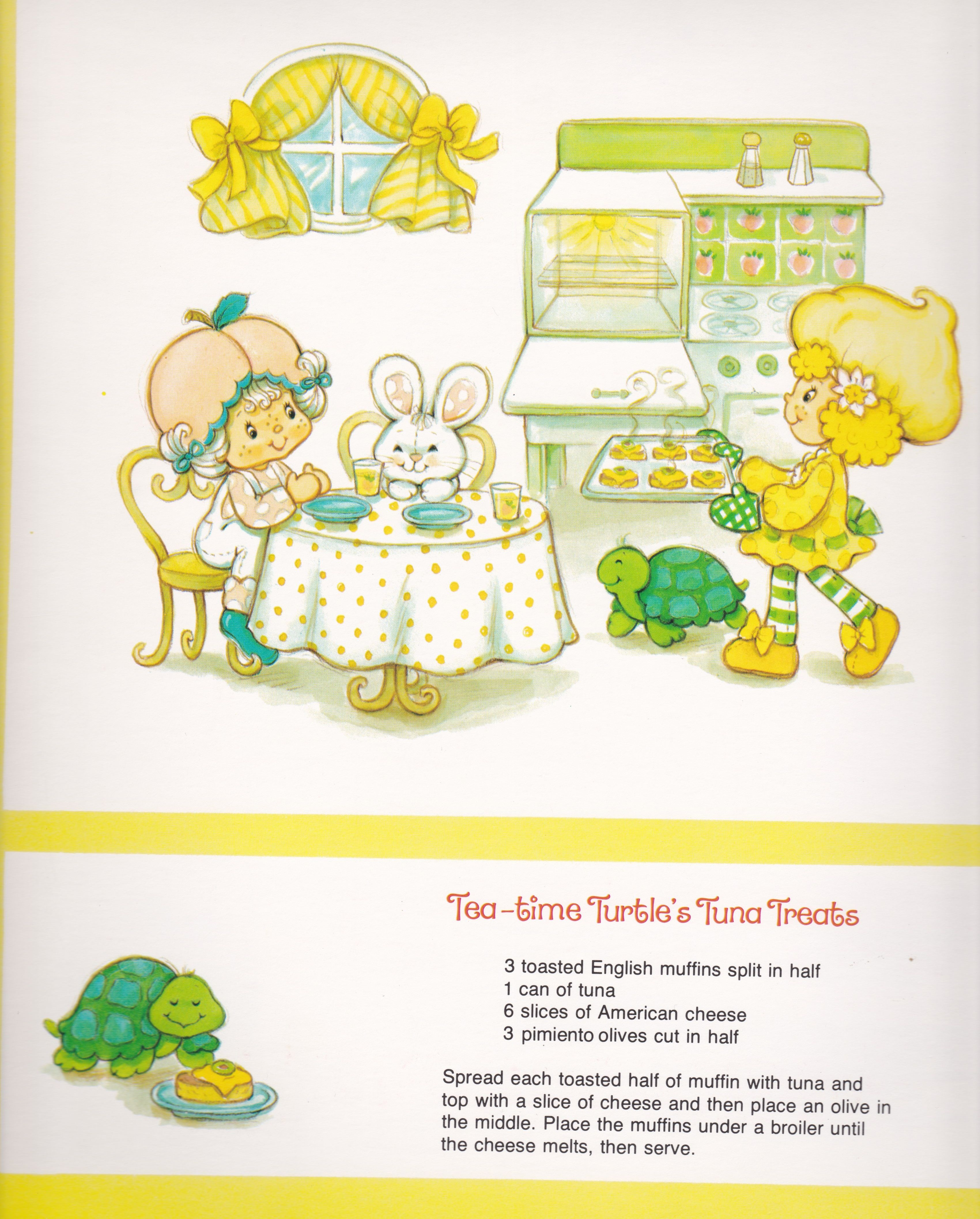 Vintage Strawberry Shortcake 1983 Sweet Treats Calendar Novembe