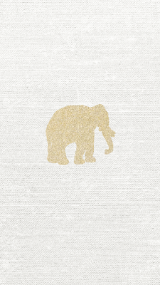 Gold Glitter Elephant Vector Free Iphone 6s Backgrounds