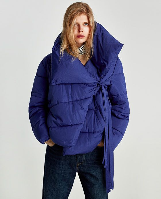 b1c15cdd Image 2 of ASYMMETRIC QUILTED JACKET from Zara | 2018AW in 2019 ...