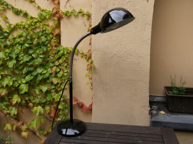 Vintage Tischlampen - 30er Tischlampe Industrielampe - Art Déco Bauhaus - ein Designerstück von designerlampen bei DaWanda