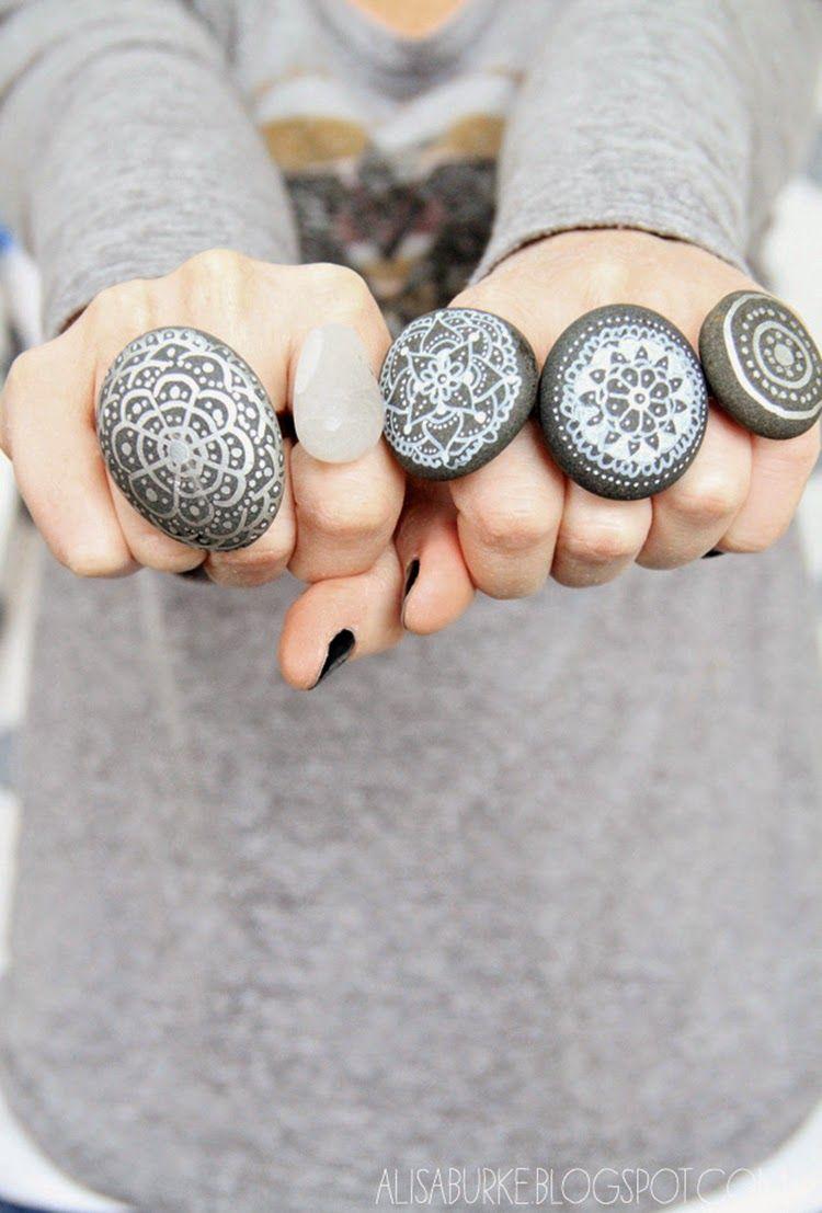 Ohoh Blog - artesanías y bricolaje Bricolaje Lunes # Stones