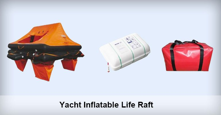 Yacht Inflatable Life Raft is suitable for small boat or