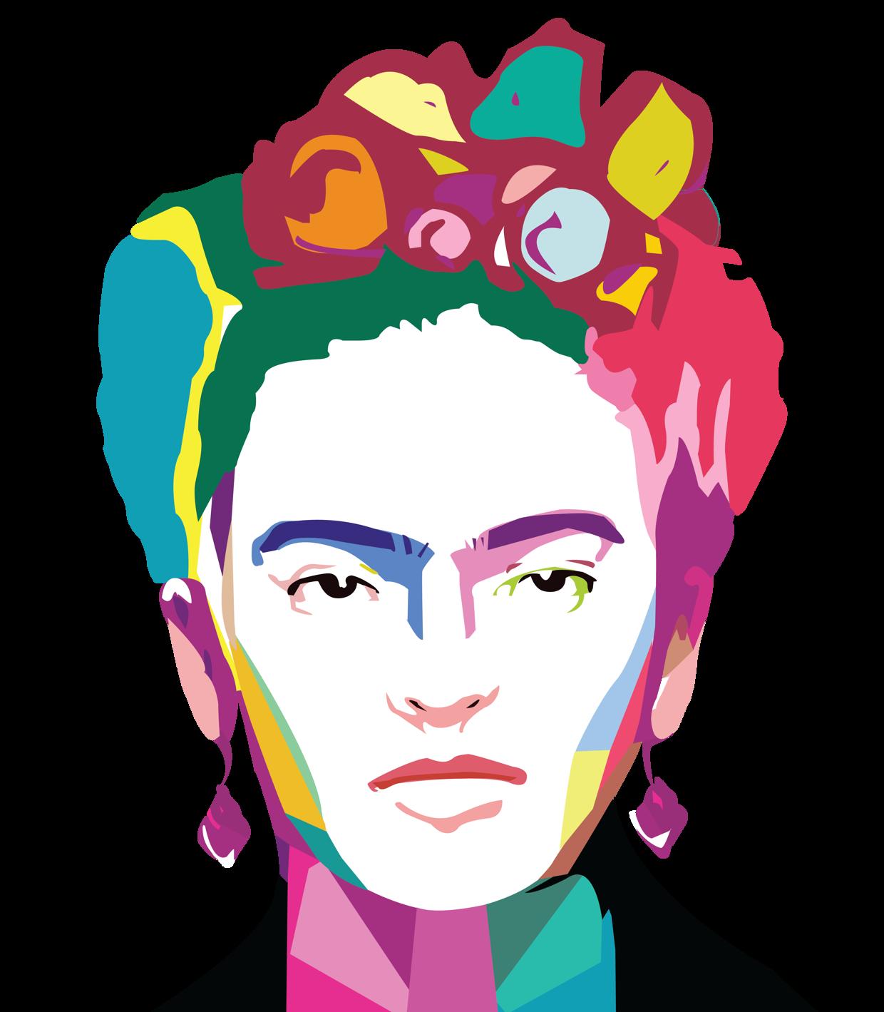 Frida Kahlo Pop Art Ilustracoes Arte Pop Desenho Estilizado