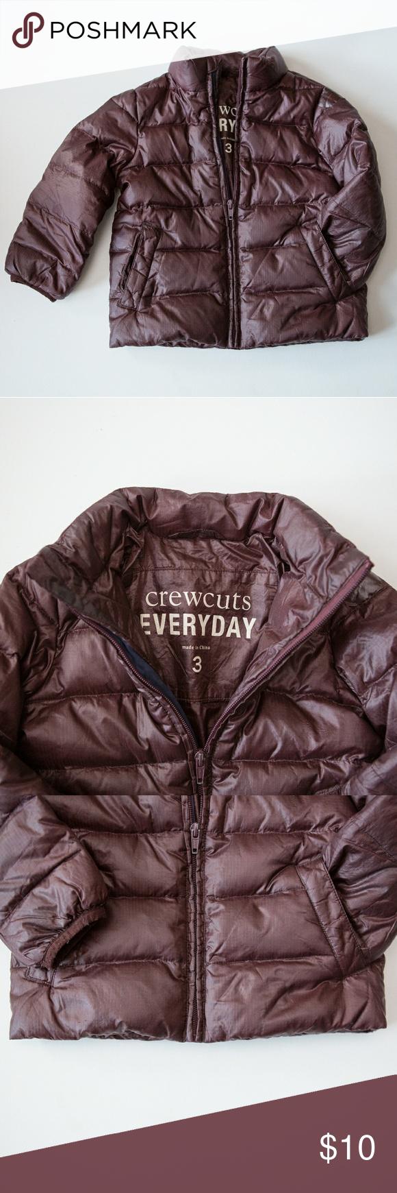 Crewcuts J Crew Kids Puffer Jacket 3t Toddler Puffer Jackets Jackets Jcrew Kids [ 1740 x 580 Pixel ]