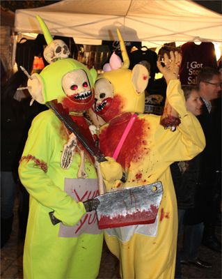 teletubbies halloween