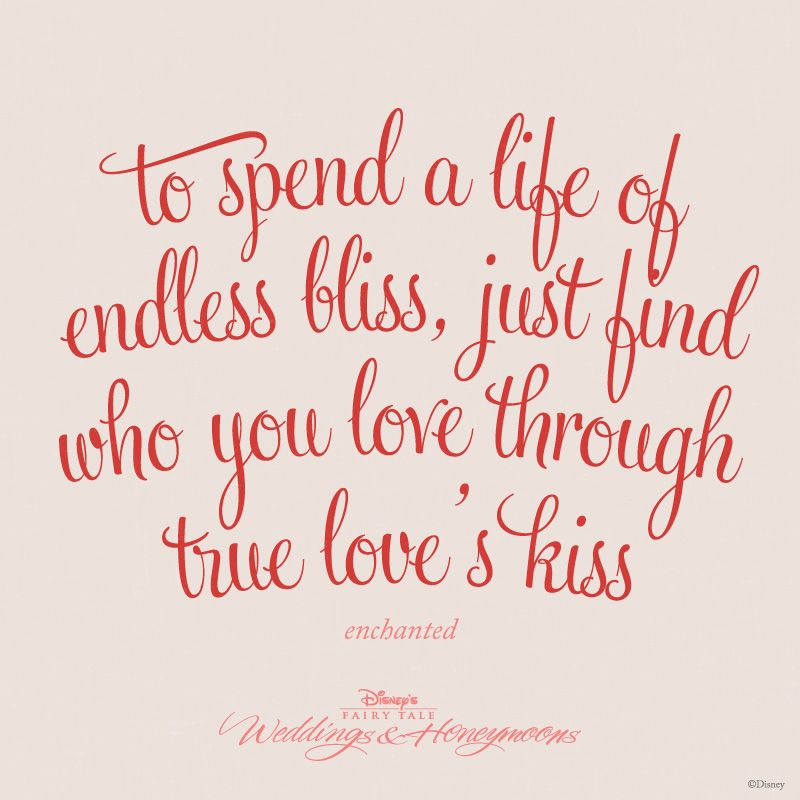 """""""To Spend A Life Of Endless Bliss, Just Find Who You Love"""