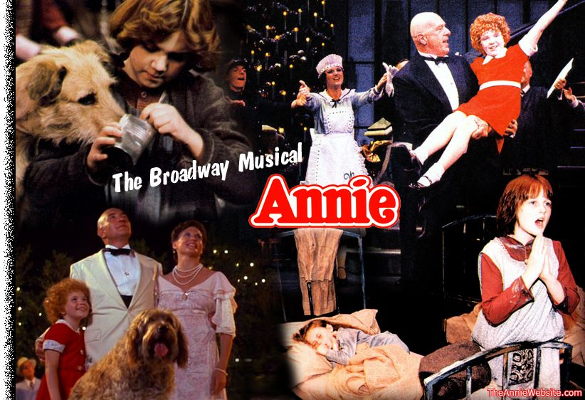Image result for broadway musical annie