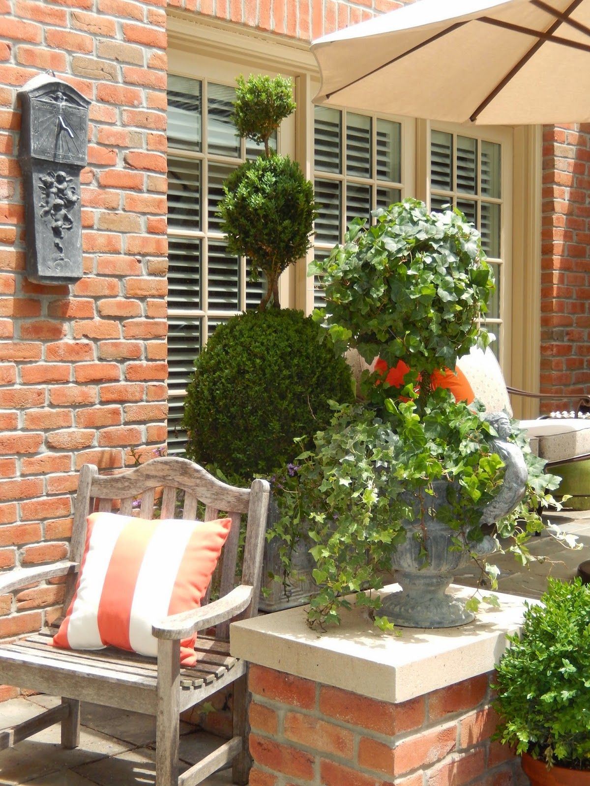 patio and pots 2014 (With images) Patio, Outdoor deco