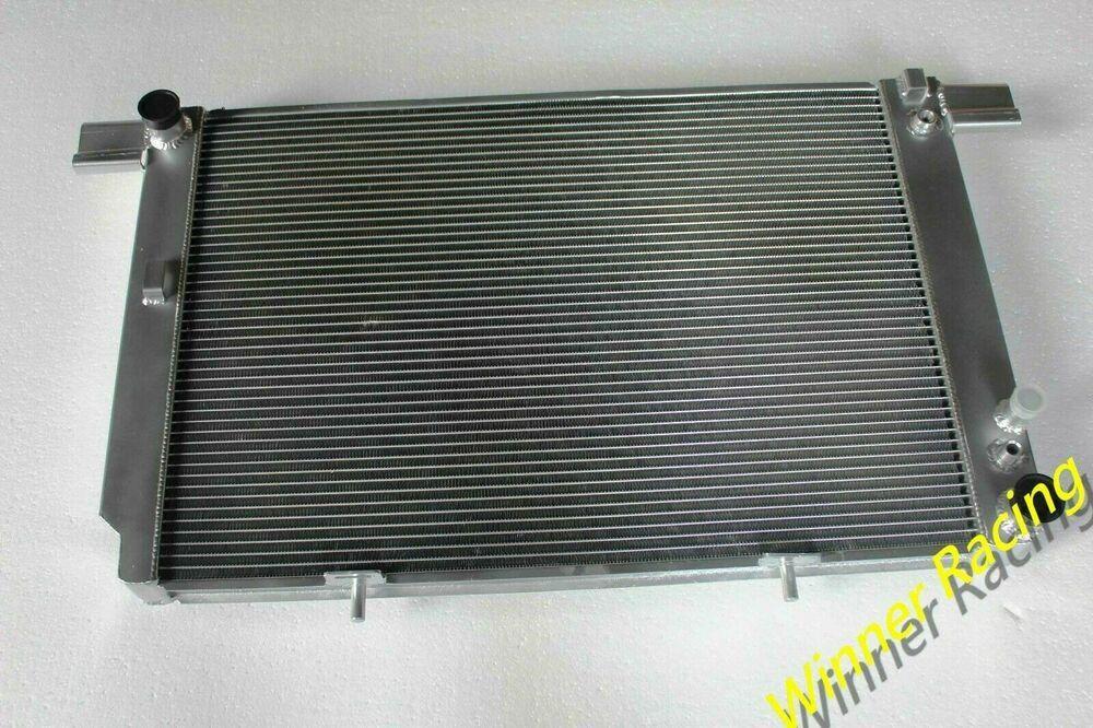 1x Aluminum Oil Cooler System Car AC Condenser Radiator Converter Accessories