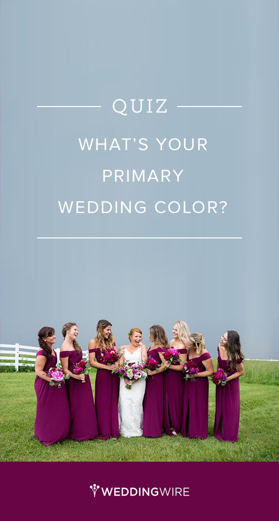 Quiz What S Your Primary Wedding Color Brett Loves Elle Photography