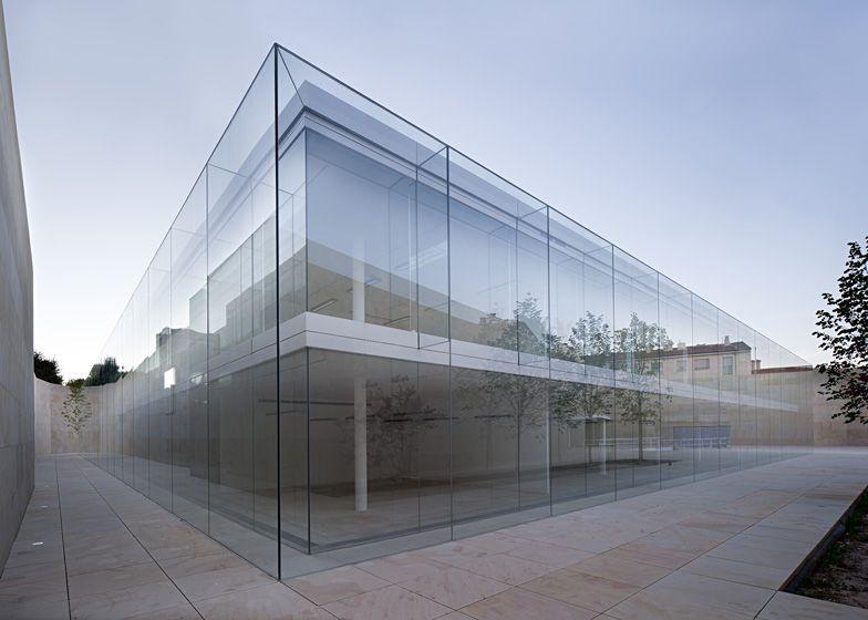 Offices for Junta de Castilla y Leóna by Alberto Campo Baeza