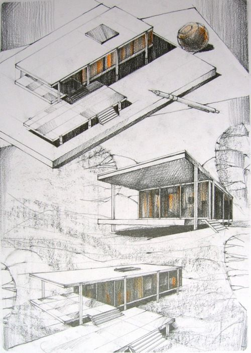 Drawing Architecture Tumblr Architectural Presentations
