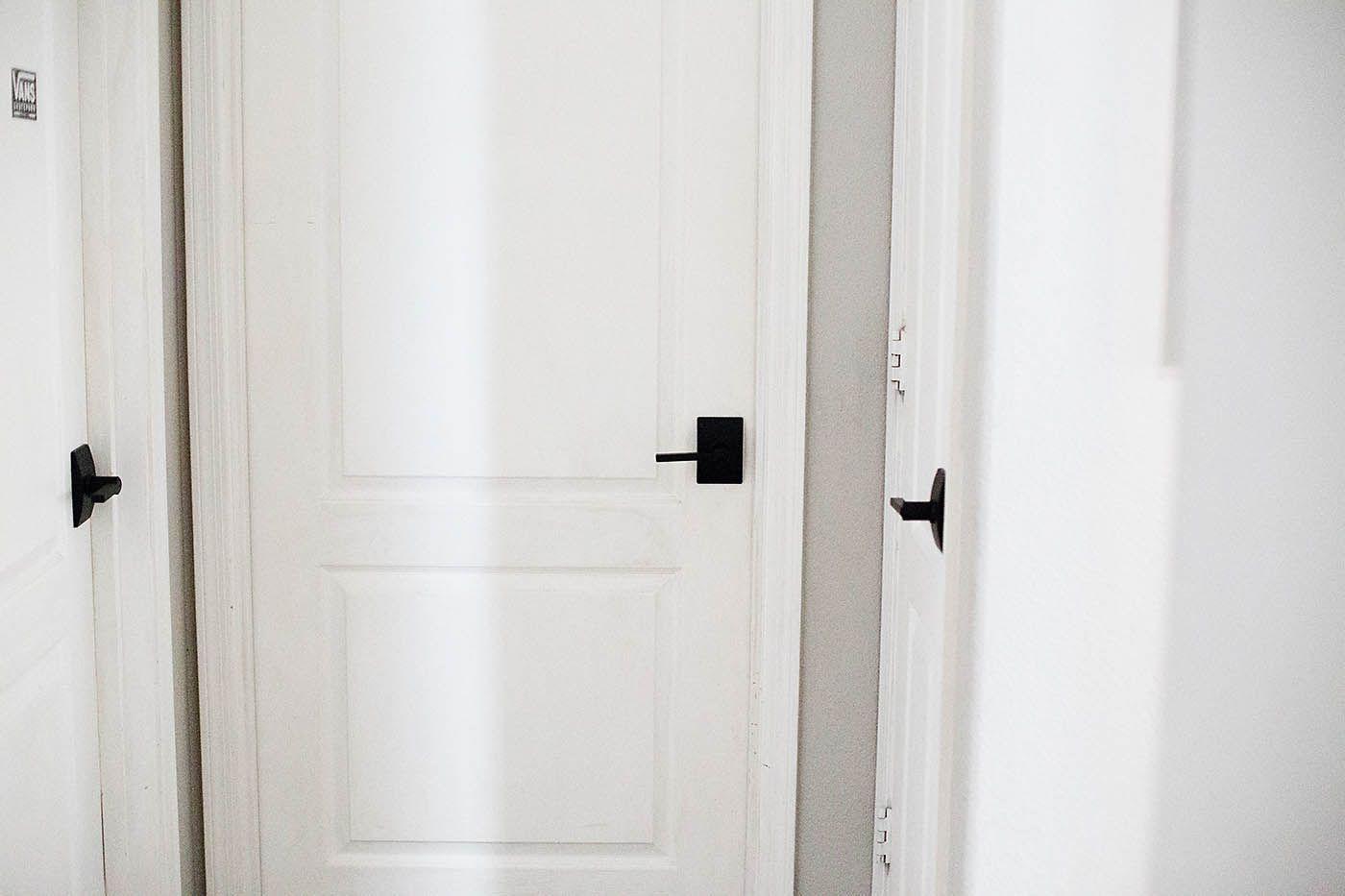 New Black Schlage Interior Doors