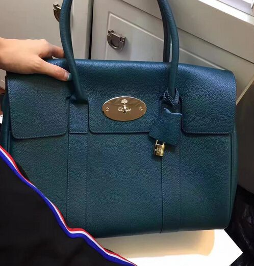 0a2ccf3ea50 New Mulberry Edition 2017-Mulberry Bayswater Ocean Blue Small Classic Grain