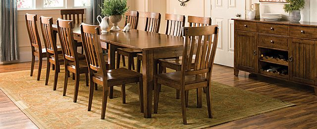 Captivating Dining Set | Dining Sets | Raymour And Flanigan Furniture | Mud Room And  Kitchen | Pinterest | Dining Sets, Cherry Finish And Design Trends