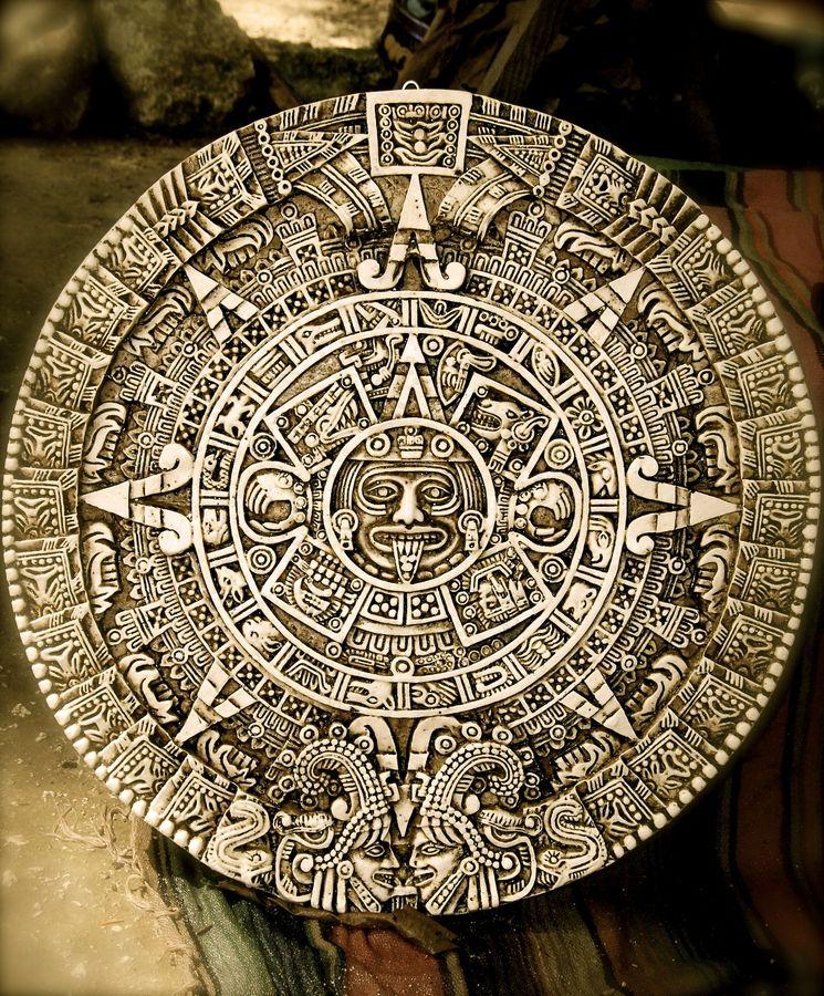 Art Calendar La : La piedra del sol es un disco monolítico de basalto