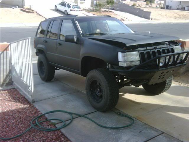 Diy Flat Black Paint Job Jeepforum Com Black Flats Jeep Zj Black Paint