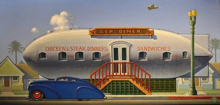 Zepelin Diner, art deco