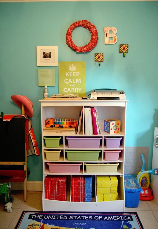 KidKraft Wall Storage Unit  Play School
