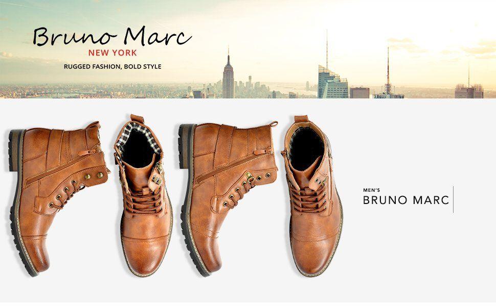 Amazon Com Bruno Marc Men S Philly 3 Black Military Combat Boots 9 M Us Boots Dress Shoes Men Oxford Boots Military Combat Boots