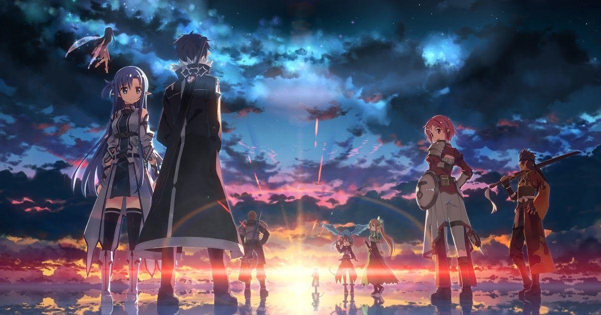 25 Download Wallpaper Anime Sao Hd Sao Hd Wallpapers 75 Images Download Sword Art Online Wallpaper Kirito 81 I Pemandangan Khayalan Pemandangan Anime Seni
