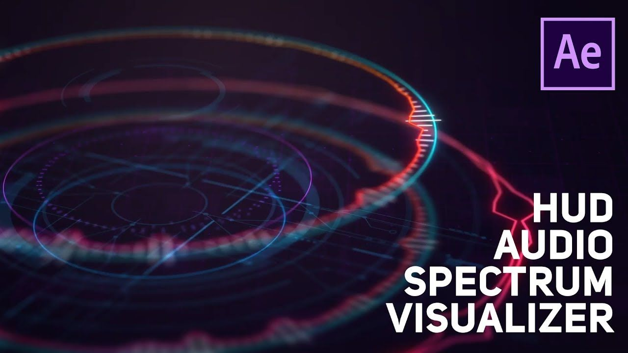 After Effects Tutorial Audio Spectrum Visualizer No Plugin Music Visualization After Effect Tutorial After Effects