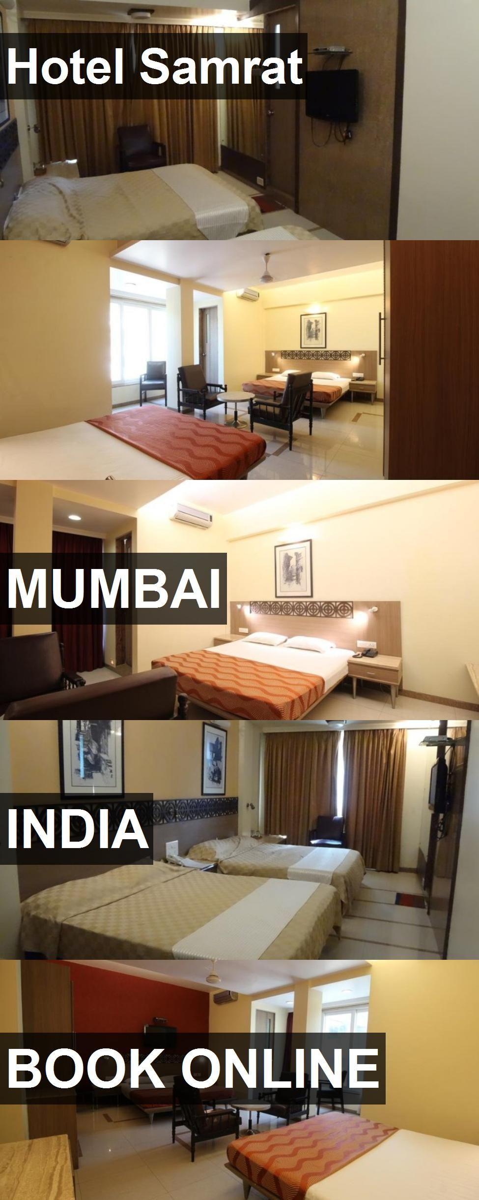 Hotel Samrat in Mumbai, India. For more information