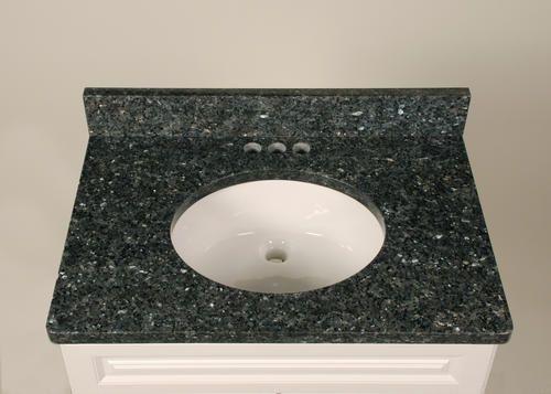 31 X 22 Blue Pearl Tuscany Granite Vanity Top