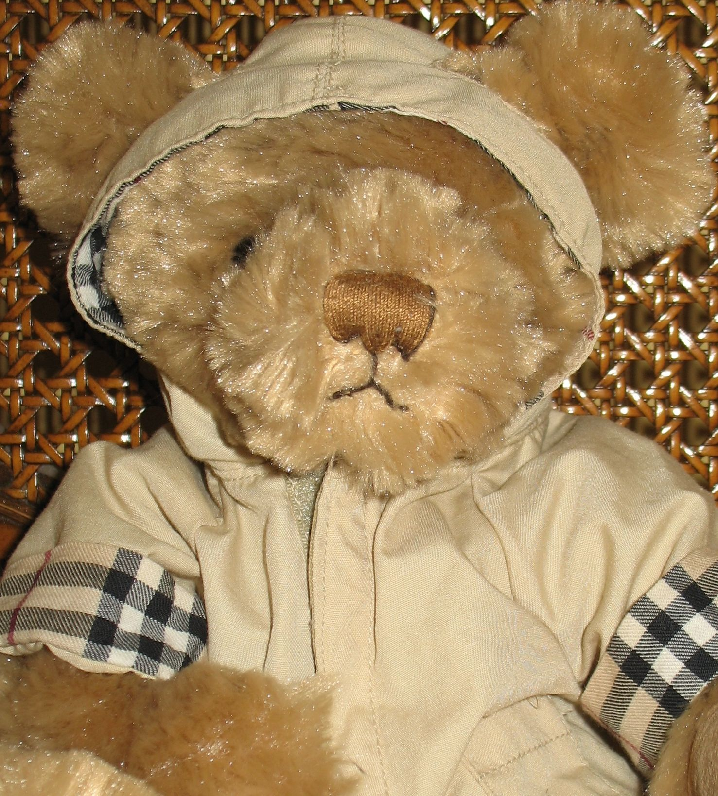 i sold it on ebay adorable russ berrie burberry fragrances plush