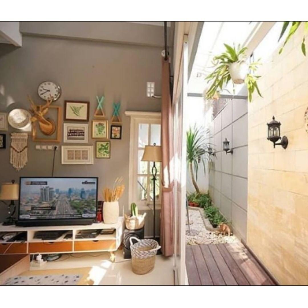 Dekor Kreatif Open Pp On Instagram Pasti Betah Di Ruang Keluarga Kaya Gini Ni Pic By Dysavitri Semoga Te Ide Dekorasi Rumah Rumah Desain Interior