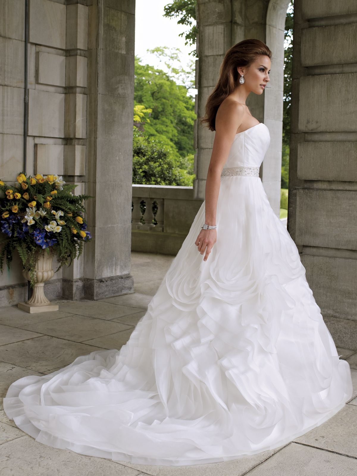 Sophia tolli wedding dresses for mon cheri david tutera