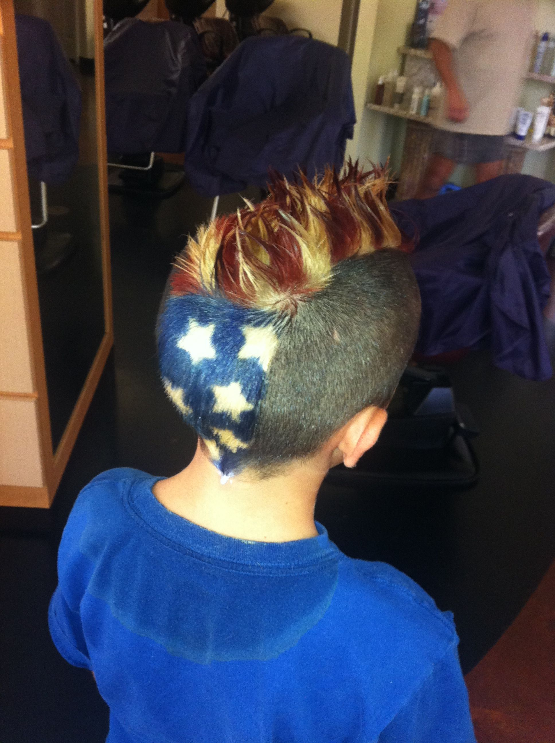 4th Of July Mohawk By Zackary Theriot At Salon Elegance In Lake Charles La Boy Hairstyles About Hair 4th Of July