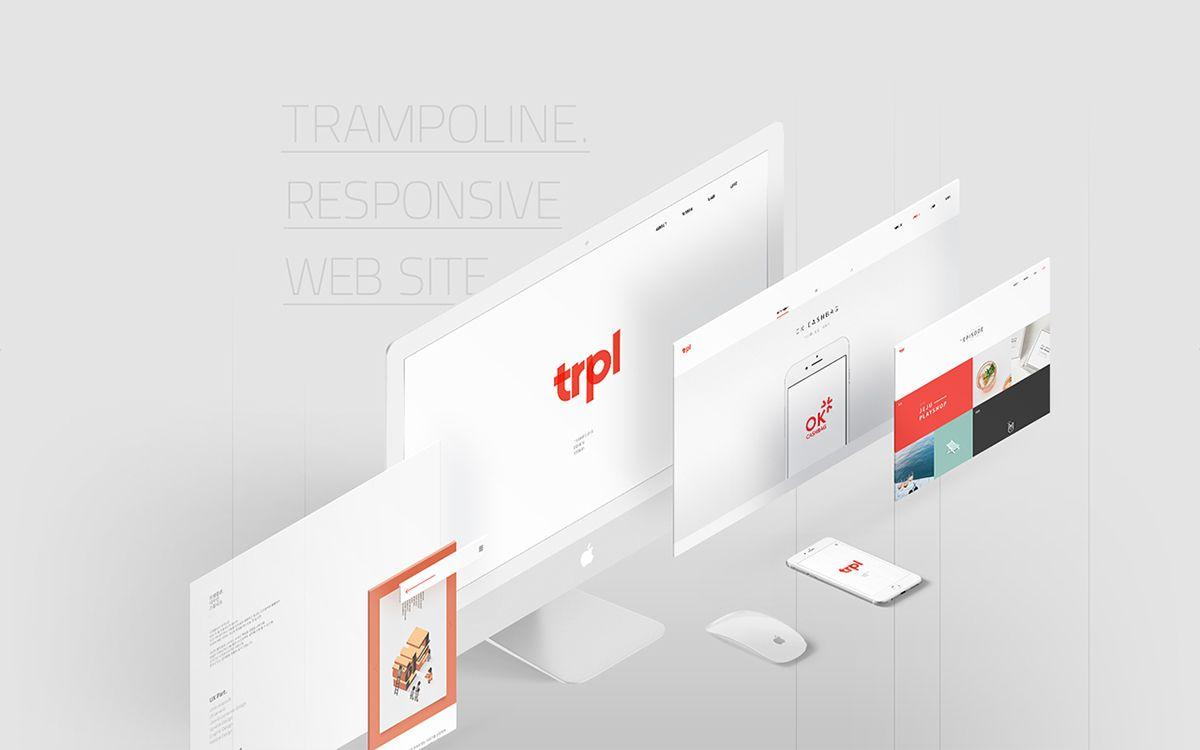 다음 @Behance 프로젝트 확인: \u201cTRPL Web Design.\u201d https://www.behance.net/gallery/50052793/TRPL-Web-Design