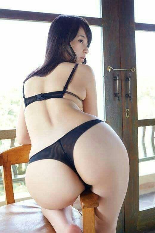 asiatische Mädchen mit schönen Hintern