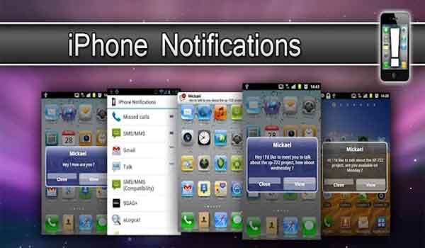 iphone notifications for android apk
